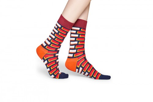 Happy Socks Calcetines Brick Sock Multicolor
