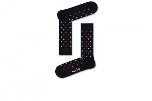 Happy Socks Calcetines Dot Sock Negras
