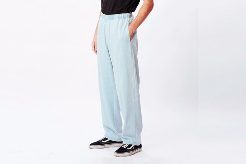 Pantalón Obey EASY BIG DENIM azul