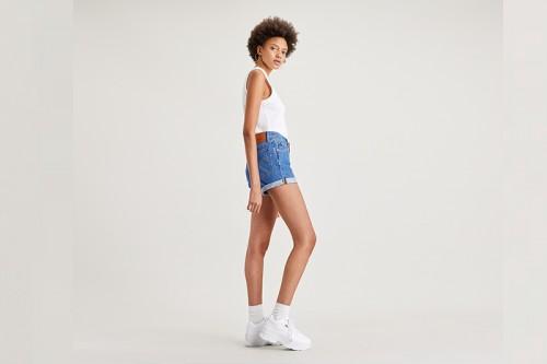 pantalones cortos Levi´s 501 ROLLED SHORT SANSOME Azules