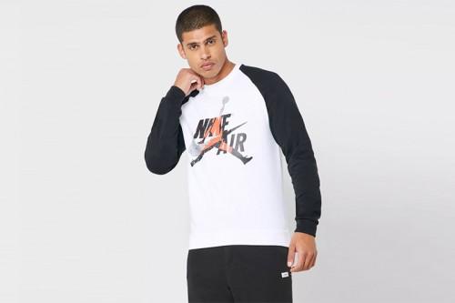 Sudadera Nike Jordan Jumpman Classics blanca
