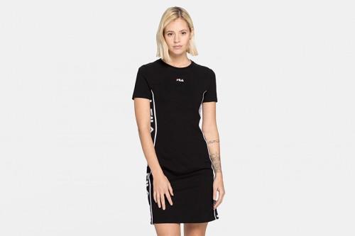 Vestido Fila WOMEN TANIEL tee dress negro