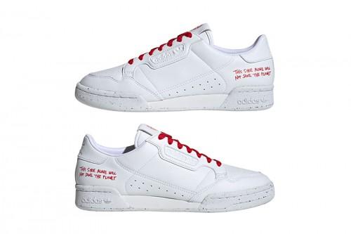 Zapatillas adidas CONTINENTAL 80 Clean Classics Blancas