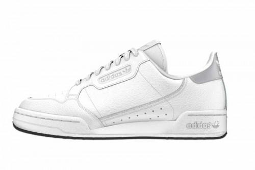 Zapatillas adidas CONTINENTAL 80 W Blancas