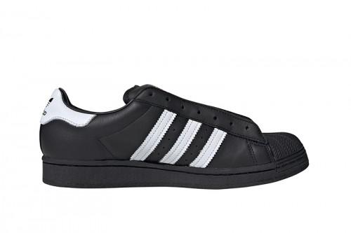 Zapatillas adidas SUPERSTAR LACELESS Negras