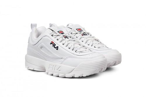 Zapatillas Fila DISRUPTOR LOW Blancas