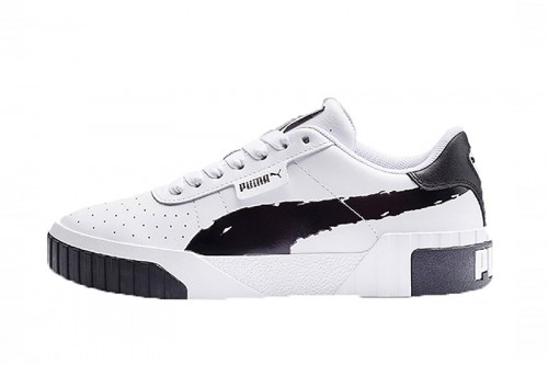 Zapatillas Puma Cali Brushed Wn's Blancas