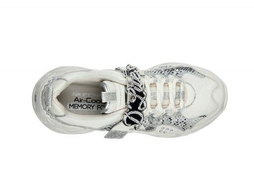 Zapatillas Skechers D'LITES 3 - FLASHY STUD Blancas