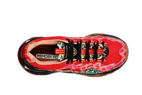 Zapatillas Skechers D'LITES 3 - JOY SUMMER Rojas