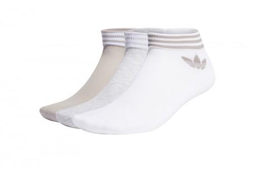 Calcetines adidas TREFOIL blancos