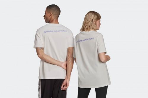 Camiseta adidas 5 DINO blanca