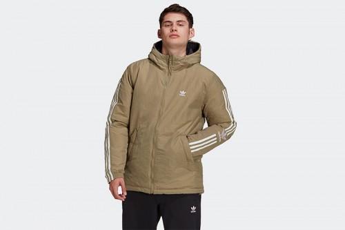 Abrigo adidas LOCK-UP PADD JK beige