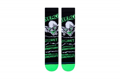 Calcetines Stance BRIGHT LIGHT Gremlins negros