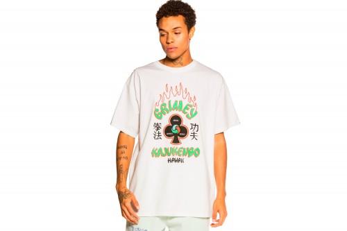 Camiseta GRIMEY DESTROY ALL FEAR blanca
