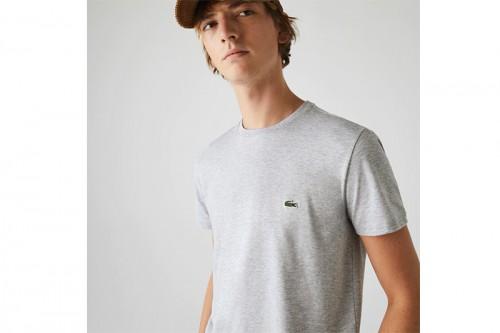 Camiseta Lacoste CAMISETA M/C GRIS gris