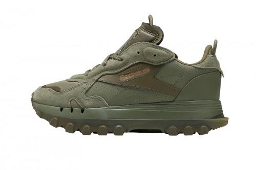 Zapatillas Reebok CARDI B CLASSIC LEATHER Verdes